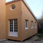 Maison à Ossature Bois sur Pilotis