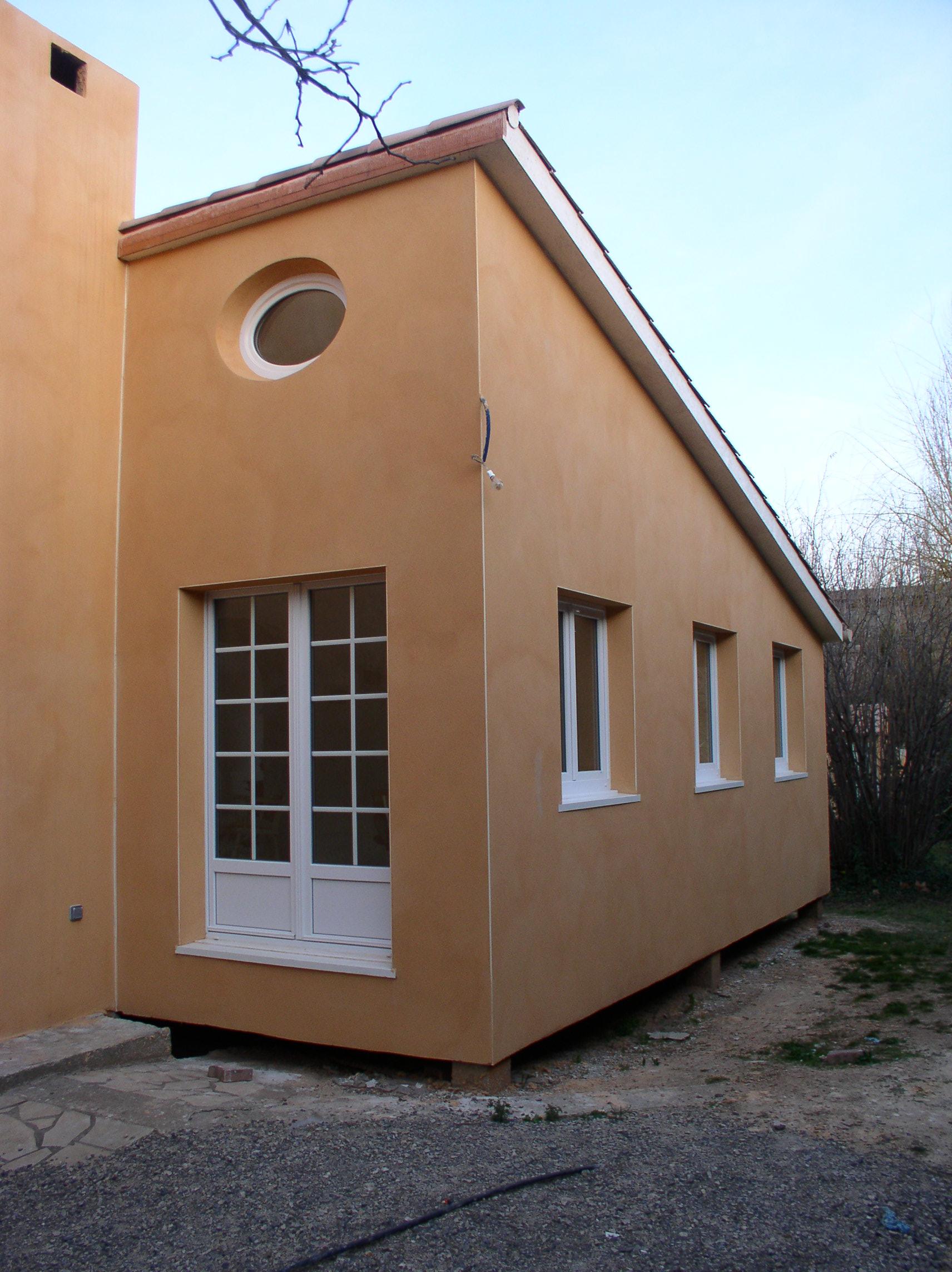Maison ossature bois sur pilotis maison 7 pices 240 m for Prix extension maison 50m2