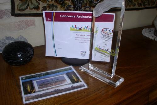 1er Prix ArtinovArt's 2008 «Dévelop. durable»